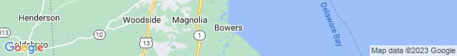 Map of DE