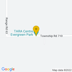 Map to Evergreen Park provided by Google