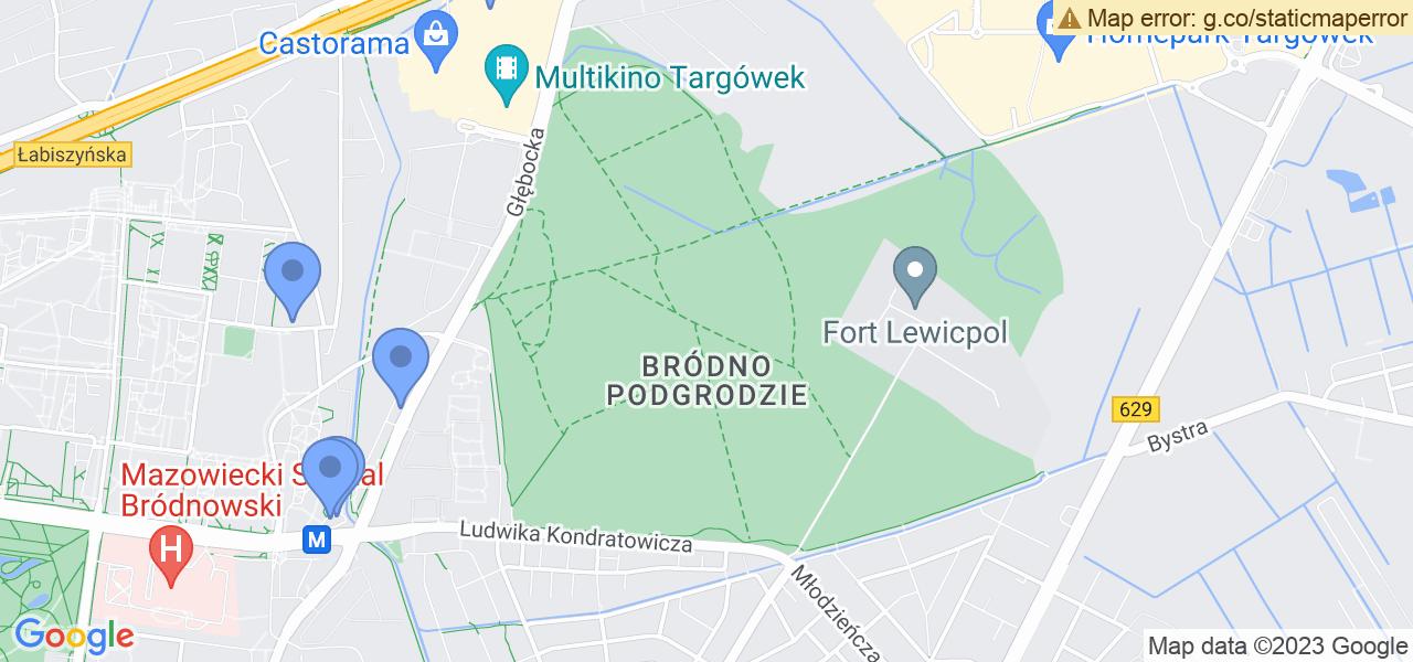 Osiedle Bródno-Podgrodzie w Warszawie – w tych punktach ekspresowo wyślesz turbinę do autoryzowanego serwisu