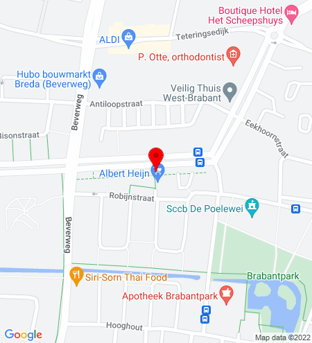 Google Map of Brabantplein 10, 4817 LR Breda