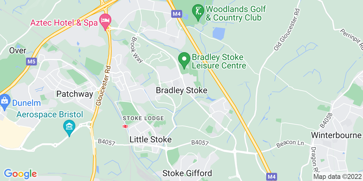 Map: Office Manager Personal Assistant position in Bradley Stoke