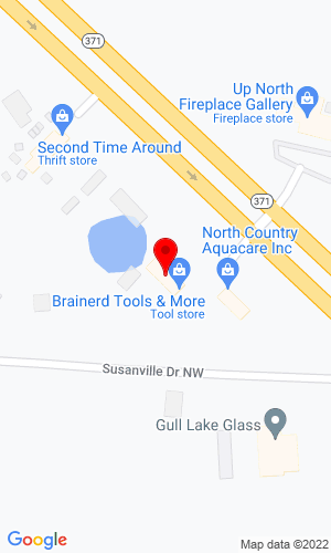 Google Map of Brainerd Absolute Trailer Sales 18139 STATE HWY 371, BRAINERD, MN, 56401