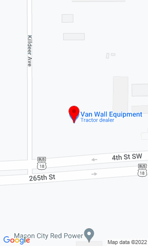 Google Map of Brakke Implement Co 17551 Killdeer Avenue, Mason City, IA, 50401