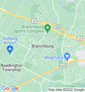 Branchburg NJ Map
