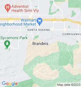 Brandeis CA Map
