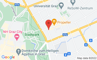Map of Ordination Graz