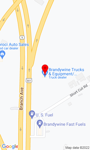 Google Map of Brandywine Trucks & Equipment 14000 Crain Hwy, Brandywine, MD, 20613