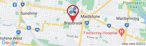 Braybook google map