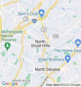 Briarcliff GA Map