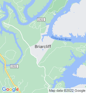 Briarcliff TX Map