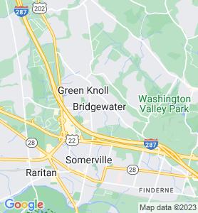 Bridgewater NJ Map