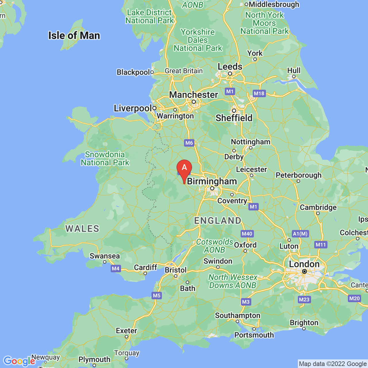 Bridgnorth, England Map