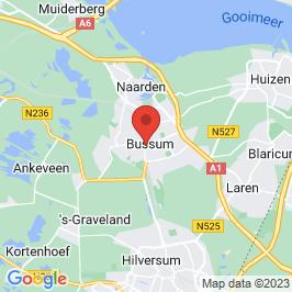 Google map of Sint Vituskerk, Bussum