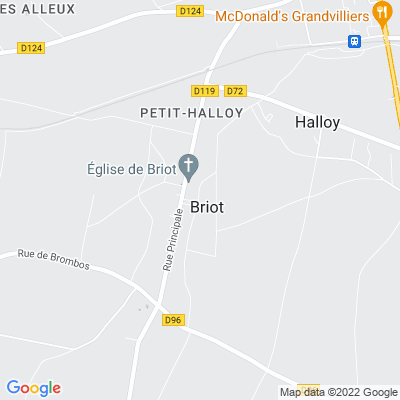 bed and breakfast Briot