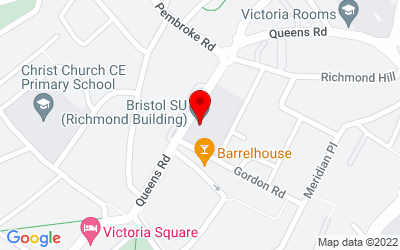 Google Map of Bristol Students Union