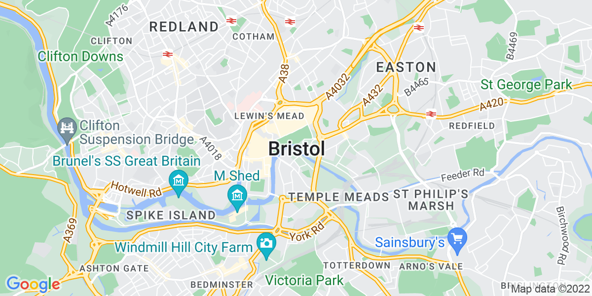 Map: Personal Injury Fee Earner job in Bristol