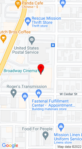 Google Map of Don's Rent-All, Inc Broadway at Washington , Eureka, CA, 95501