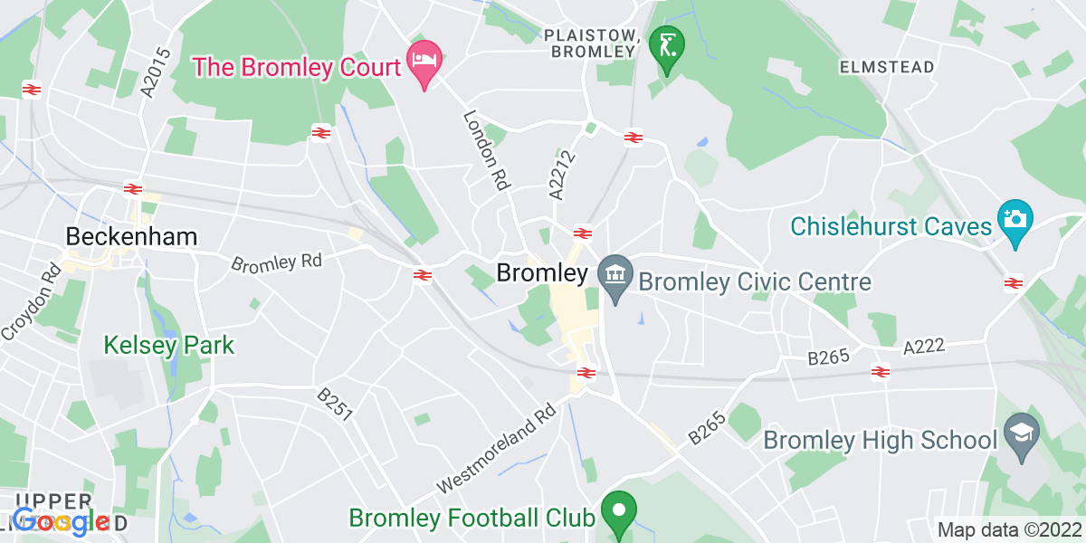 Map: Marketing Manager position in Bromley
