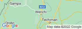 Wenchi map