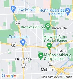 Brookfield IL Map