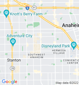 Brookhurst Center CA Map