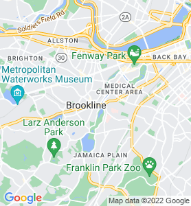 Brookline Village MA Map