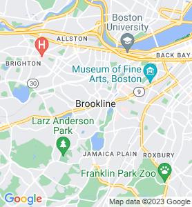 Brookline MA Map