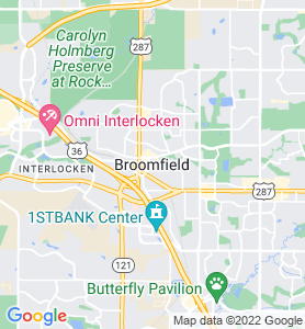 Broomfield CO Map