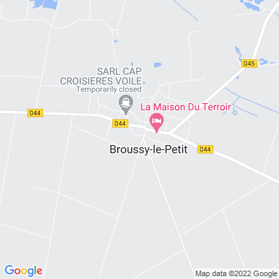 bed and breakfast Broussy-le-Petit