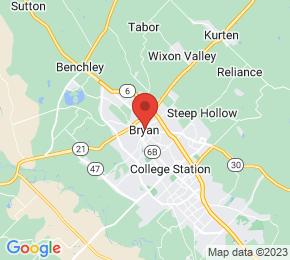 Job Map - Bryan, Texas  US