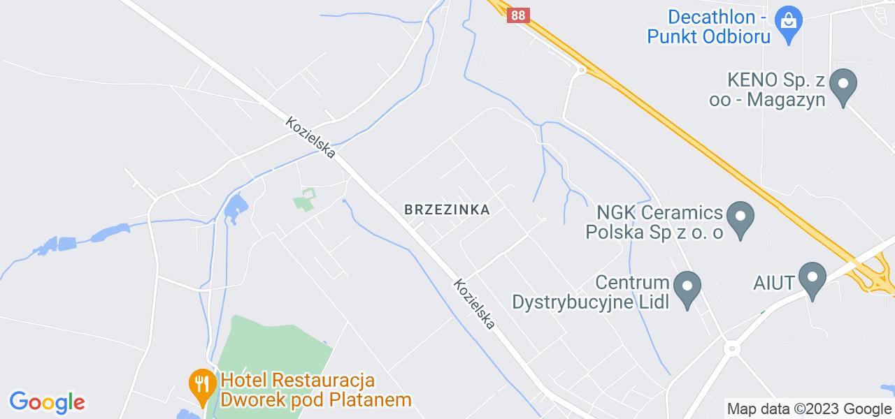 Osiedle Brzezinka w Gliwicach – w tych punktach ekspresowo wyślesz turbinę do autoryzowanego serwisu
