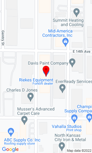 Google Map of Bublitz Machinery Co 703 E 14th Avenue, North Kansas City, Missouri, 64116,
