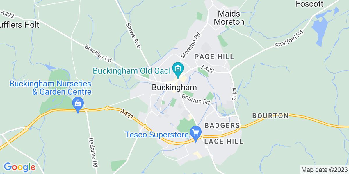 Map: Shift Technician job role in Buckingham
