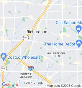 Buckingham TX Map