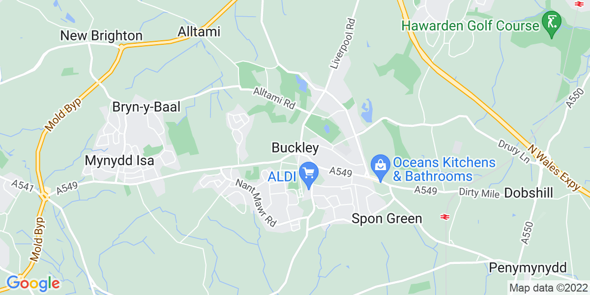 Map: Credit Controller position in Buckley