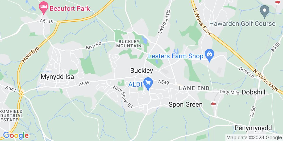 Map: General Cover Teacher job in Buckley