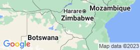 Bulawayo map
