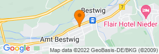 Google Map of Bestwig
