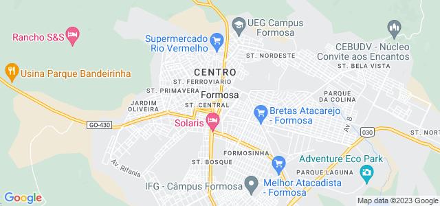 Buraco das Araras, Formosa - Goiás