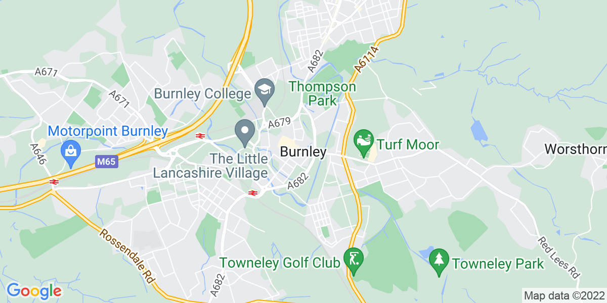 Map: Accounts Assistant position in Burnley