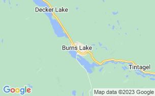 Map of Burns Lake KOA