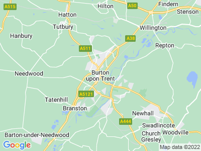 Personal Injury Solicitors in Burton-Upon-Trent