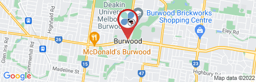 Burwood google map