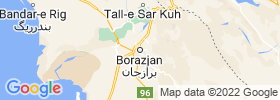 Borazjan map