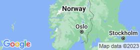 Buskerud map