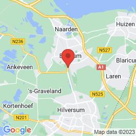 Google map of Watertoren, Bussum