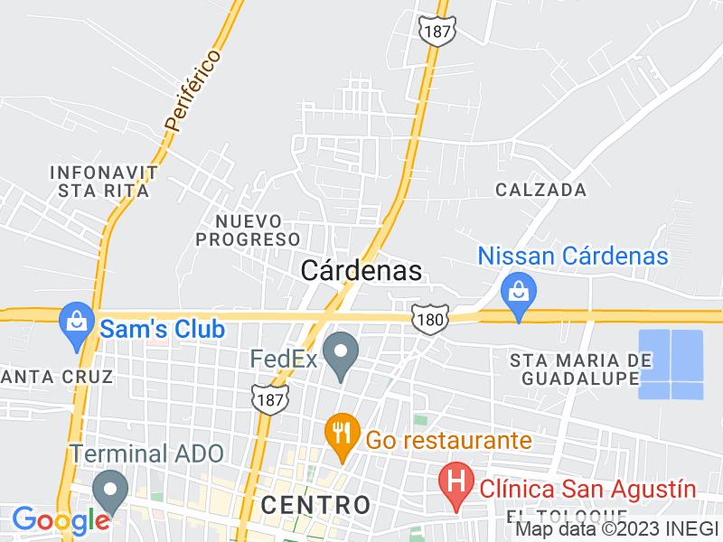 Cárdenas, Tabasco