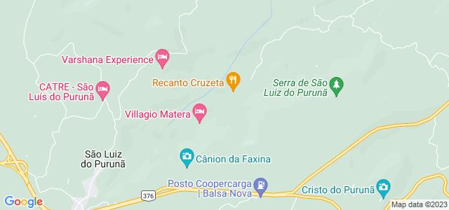 Cânion da Faxina, São Luiz do Purunã - PR