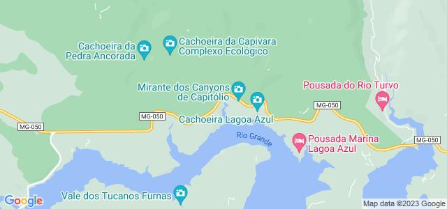 Cânions de Capitólio - Vale dos Tucanos, Lago de Furnas, Capitólio - MG