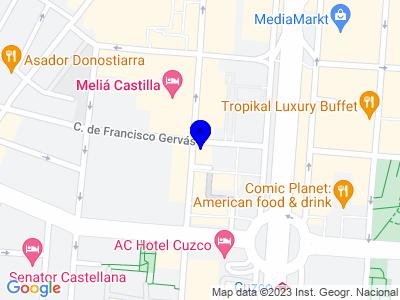 Google Map of C/Capitan haya, 41 - Madrid